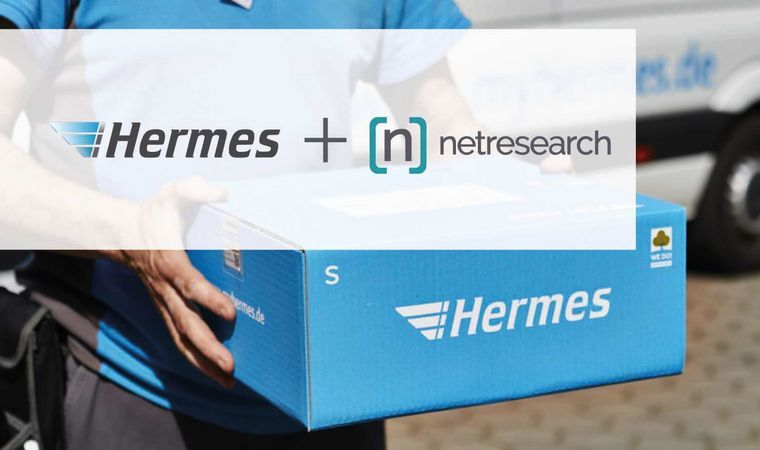 Partnerschaft Netresearch Hermes