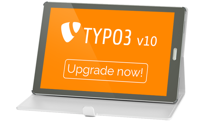 TYPO3 v10 Upgrade now!